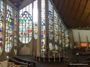 La iglesia de Santa Juana de Arco