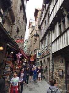 Calle del Monte Saint Michelle