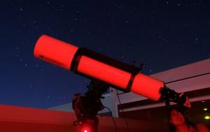 Telescopio del centro astronomico